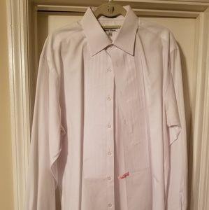 Mens White Tuxedo Shirt